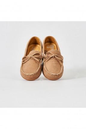 حذاء اطفال ولادي مزين بدرزة