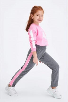 بيجاما رياضية اطفال بناتي بطبعة