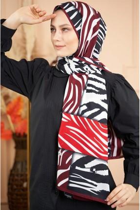 حجاب مزين بخطوط
