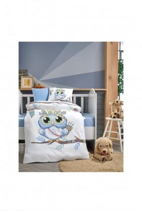 طقم غطاء سرير بيبي برسم