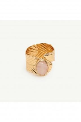 خاتم نسائي مزين بحجر