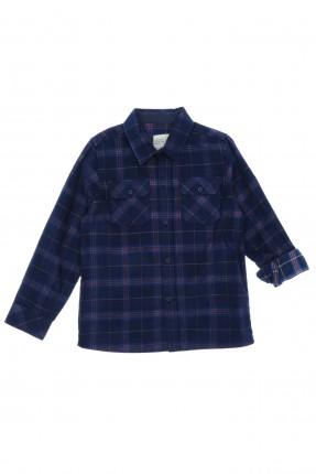 قميص اطفال ولادي مزين بجيوب