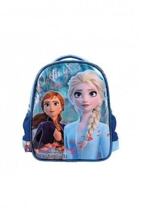حقيبة ظهر اطفال بناتي بطبعة فروزن - كحلي
