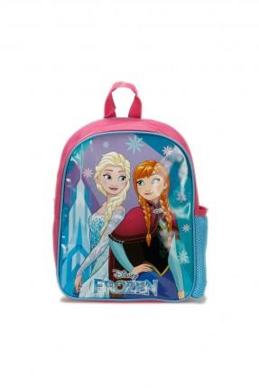 حقيبة ظهر اطفال بناتي بطبعة السا - زهري