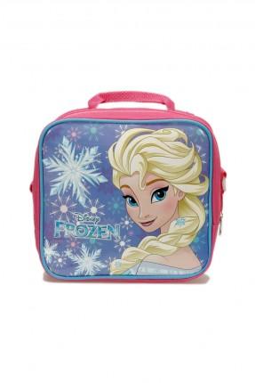 حقيبة يد اطفال بناتي بطبعة السا - زهري