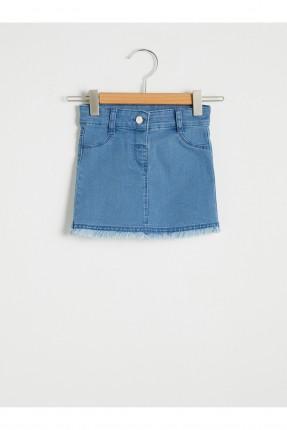 تنورة بيبي بناتي جينز قصيرة