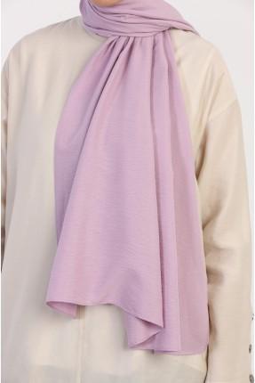 حجاب سادة اللون - بنفسجي