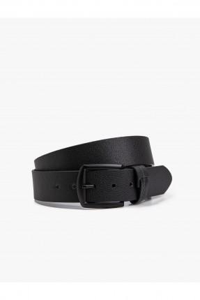 حزام رجالي - اسود
