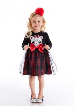 فستان اطفال بناتي مزين بفيونكة