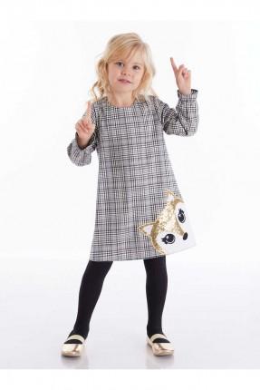 فستان اطفال بناتي كارو بطبعة