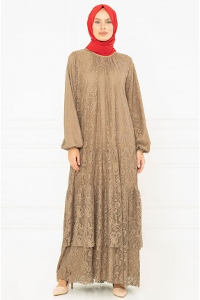 فستان نسائي دانتيل