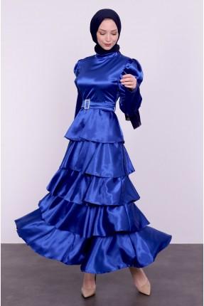 فستان رسمي بلمعة
