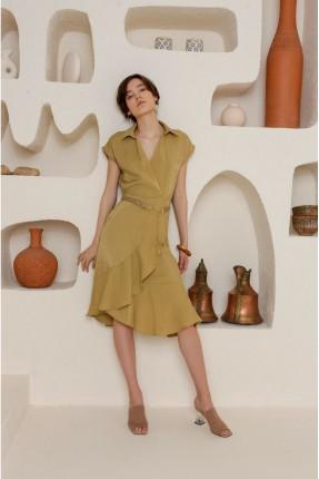فستان سبور بكشكش - زيتي
