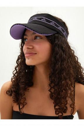 قبعة نسائية فيزور - اسود