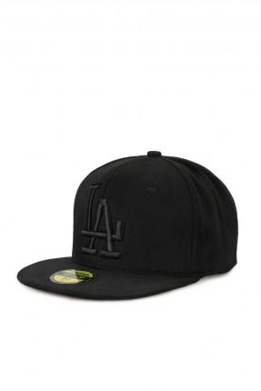 قبعة رجالية بنقشة - اسود