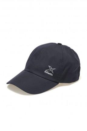 قبعة رجالية بنقشة شعار الماركة - كحلي