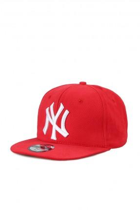 قبعة رجالية بنقشة - احمر
