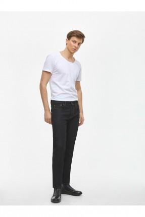 بنطال جينز رجالي سادة