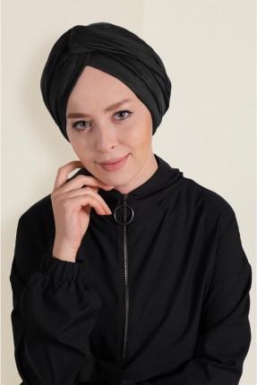 حجاب موديل لف - اسود