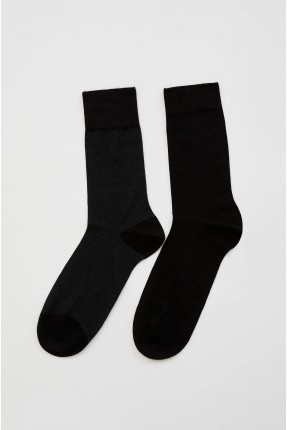 جوارب رجالية سادة عدد 2