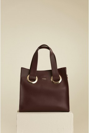 حقيبة يد نسائية - خمري