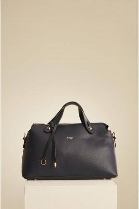 حقيبة يد نسائية مزينة بربطة