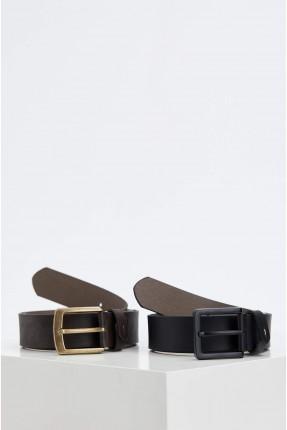 حزام رجالي جلد عدد 2