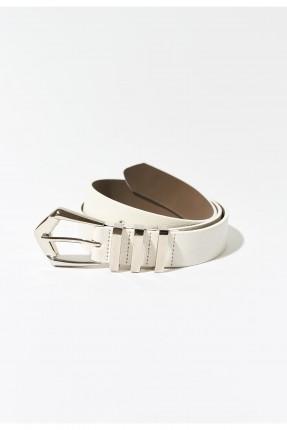 حزام نسائي - ابيض