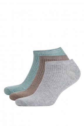 جوارب رجالية ملونة عدد 3