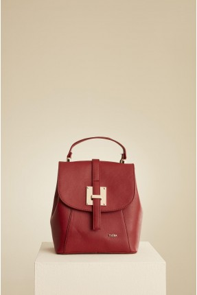 حقيبة ظهر نسائية - خمري