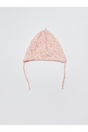 قبعة بيبي بناتي مزهرة
