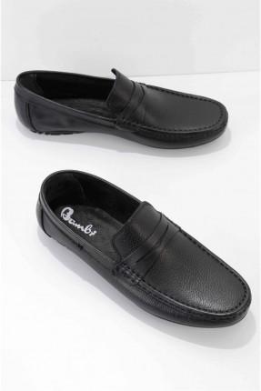حذاء رجالي سادة - كحلي
