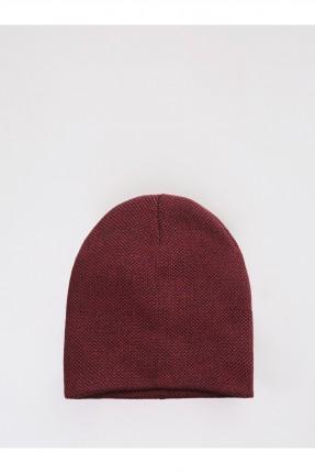 قبعة رجالية سادة - احمر
