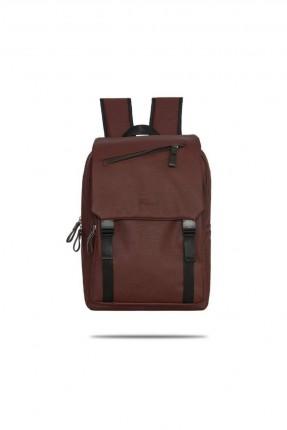 حقيبة ظهر رجالية مزينة باحزمة