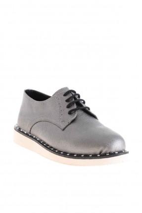 حذاء نسائي شيك - رمادي