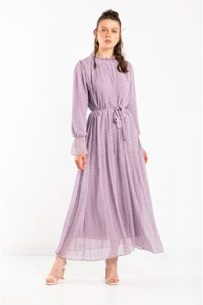 فستان نسائي طويل - موف