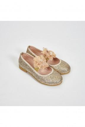 حذاء اطفال بناتي مزين بوردة
