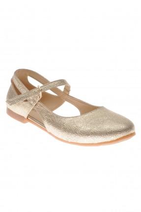حذاء اطفال بناتي بفتات جانبية