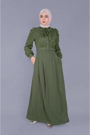 فستان سبور مزين بالتول - زيتي