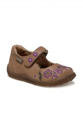 حذاء اطفال بناتي بطبعة ورود