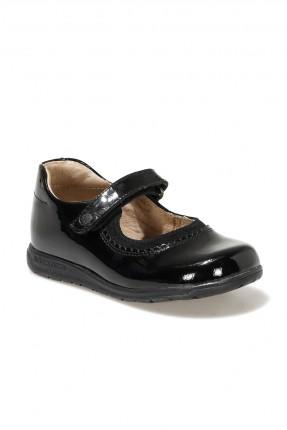حذاء اطفال بناتي بلمعة - اسود