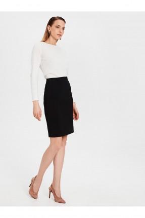 تنورة قصيرة شيك - اسود