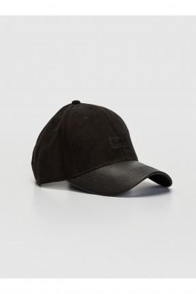 قبعة رجالية شامواه - اسود
