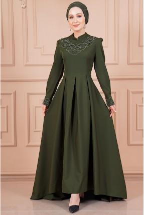 فستان رسمي طويل - زيتي