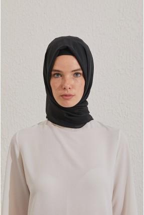 حجاب تركي سادة - اسود