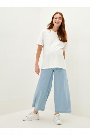 بنطال جينز حمل واسع الساقين