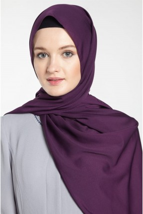 حجاب تركي سادة - بنفسجي
