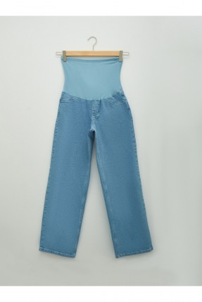 بنطال جينز حمل سادة اللون