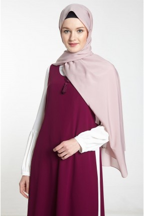 حجاب تركي سادة - زهري