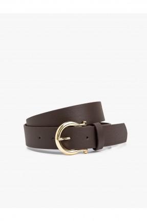 حزام نسائي - بني داكن